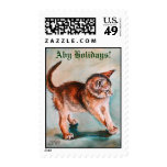 Aby Holidays! Postage Stamp