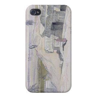 Abydus, 1pm, 12th January 1867 (ink and watercolou iPhone 4/4S Case
