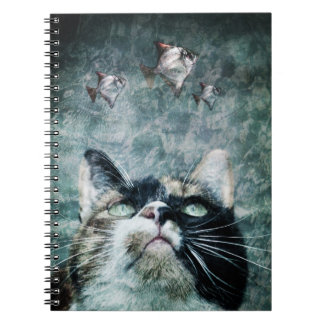 Abyss cat - Notebook