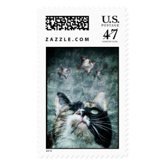 Abyss cat - Postage