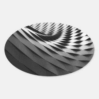 Abyss Oval Sticker