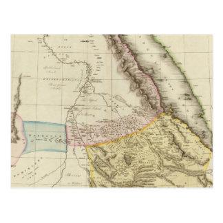 Abyssinia, &c de Nubia Postal