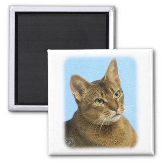 Abyssinian Cat 9Y009D-036 Refrigerator Magnet
