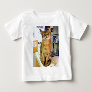 Abyssinian Cat (Abby) Baby T-Shirt