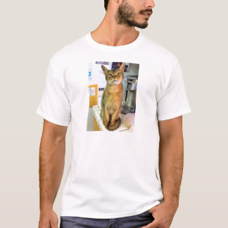Abyssinian Cat (Abby) T-Shirt