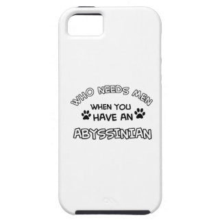 Abyssinian cat breed designs iPhone 5 covers