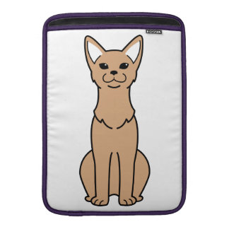 Abyssinian Cat Cartoon Sleeve For MacBook Air