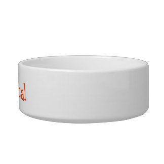 Abyssinian Cat Name Customizable Bowl