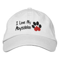 Abyssinian Embroidered Baseball Cap