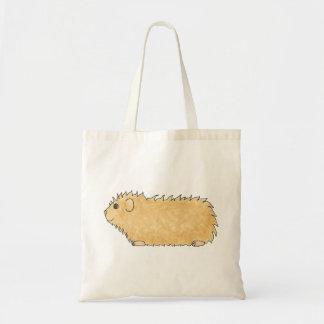 Abyssinian Guinea Pig. Canvas Bag
