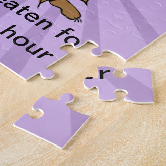 Abyssinian Guinea Pig Comic Jigsaw Puzzle