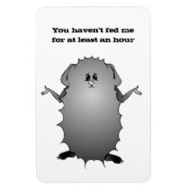 Abyssinian Guinea Pig Sayings Magnet