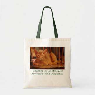 Abyssinian Kitten Tote Bag