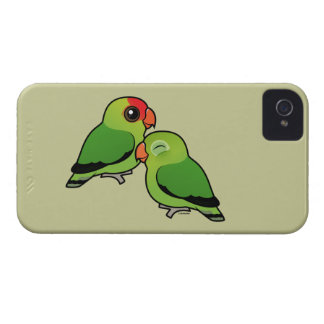 Abyssinian Lovebird Adorable Pair Case-Mate iPhone 4 Cases