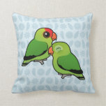 Abyssinian Lovebird Adorable Pair Pillows