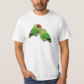 Abyssinian Lovebird Adorable Pair T-Shirt