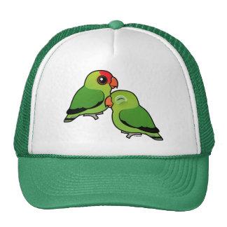 Abyssinian Lovebird Adorable Pair Trucker Hat