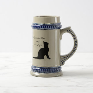 Abyssinian Mom Beer Stein