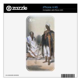 Abyssinian Priest and Warrior, illustration from ' Skin For iPhone 4