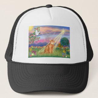Abyssinian (red 18) - Cloud Angel Trucker Hat