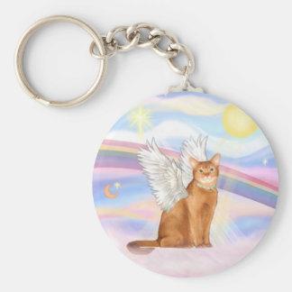 Abyssinian (red 18) - Clouds Keychain