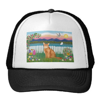 Abyssinian (red 18) - Garden-Shore Trucker Hat