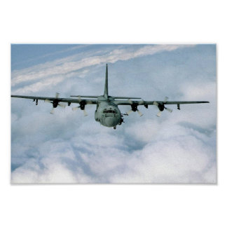 AC-130 Gunship Poster
