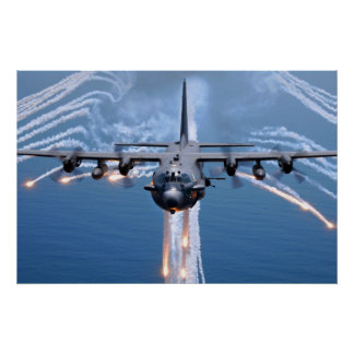 AC-130H Spectre Poster