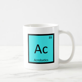 Ac - Acrobatics Sports Chemistry Periodic Table Coffee Mug