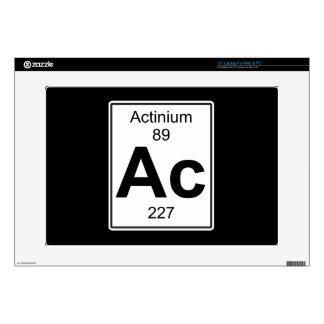 """Ac - Actinium 15"""" Laptop Decal"""