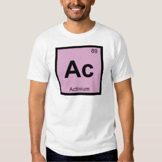 Ac - Actinium Chemistry Periodic Table Symbol T-Shirt