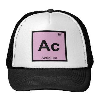 Ac - Actinium Chemistry Periodic Table Symbol Trucker Hat