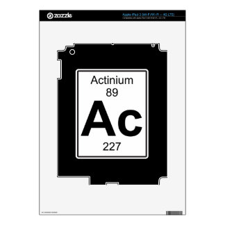 Ac - Actinium iPad 3 Decals