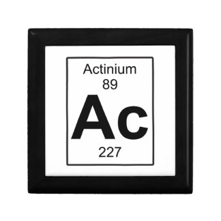 Ac - Actinium Jewelry Box