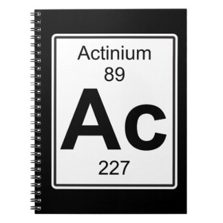 Ac - Actinium Notebook