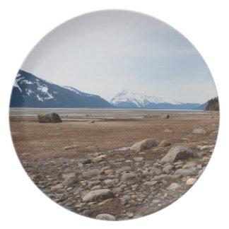 AC Alaskan Coast Dinner Plate