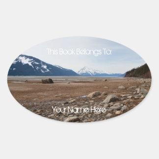 AC Alaskan Coast Oval Sticker