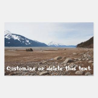 AC Alaskan Coast Rectangular Sticker