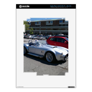 AC Cobra Replica Decals For iPad 3