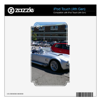 AC Cobra Replica iPod Touch 4G Decal
