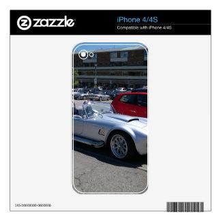 AC Cobra Replica Skins For The iPhone 4