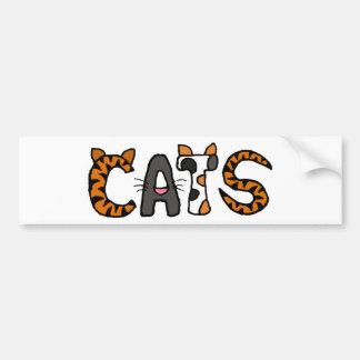 AC- Cool Cats Bumper Sticker