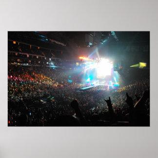 AC DC Concert Print