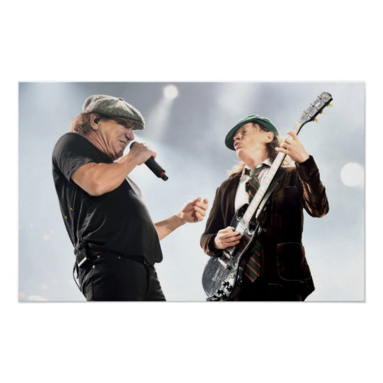 AC/DC | Dodger Stadium Poster