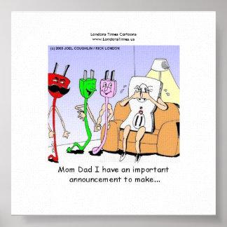 AC/DC que ata con alambre el gay divertido/Les Can Posters