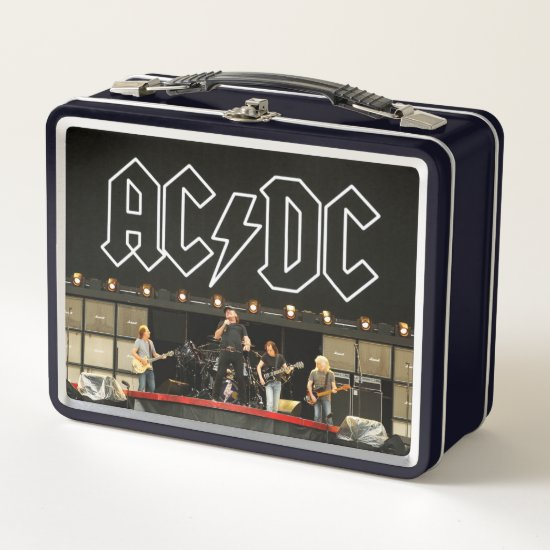 AC/DC Rock Or Bust World Tour Media Call Metal Lunch Box
