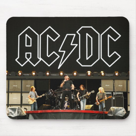 AC/DC Rock Or Bust World Tour Media Call Mouse Pad