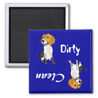 AC- Dirty Paws Beagle Magnet