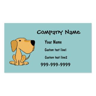 AC- Fun Yellow Labrador Business Cards