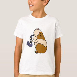 AC- Guinea Pig Playing the Saxophone T-Shirt
